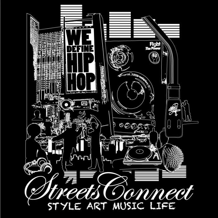 GEAR: 'We Define Hip Hop' LTD Edition Streets Connect T-Shirt