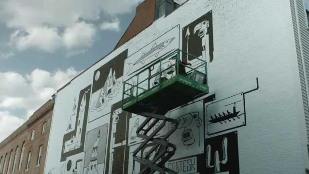 ART + STYLE: Grotesk Mural in Boston - Converse Blank Canvas (VIDEO)