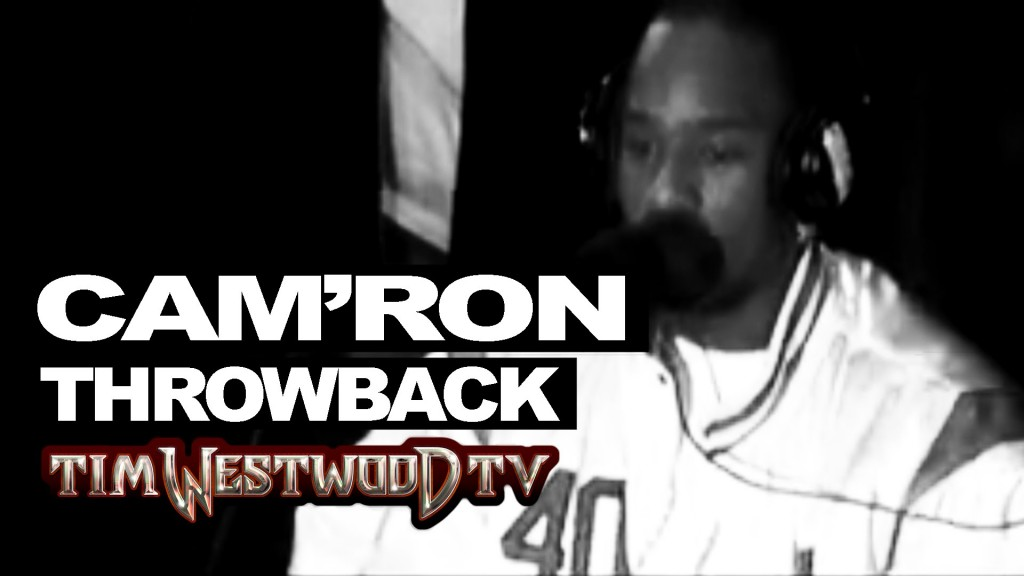 BARS: Cam'Ron freestyle exclusive never heard before! Throwback 1998 Westwood