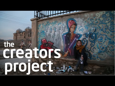 ART: Kabul's Female Graffiti Master | The Creators Project Meets Shamsia Hassani