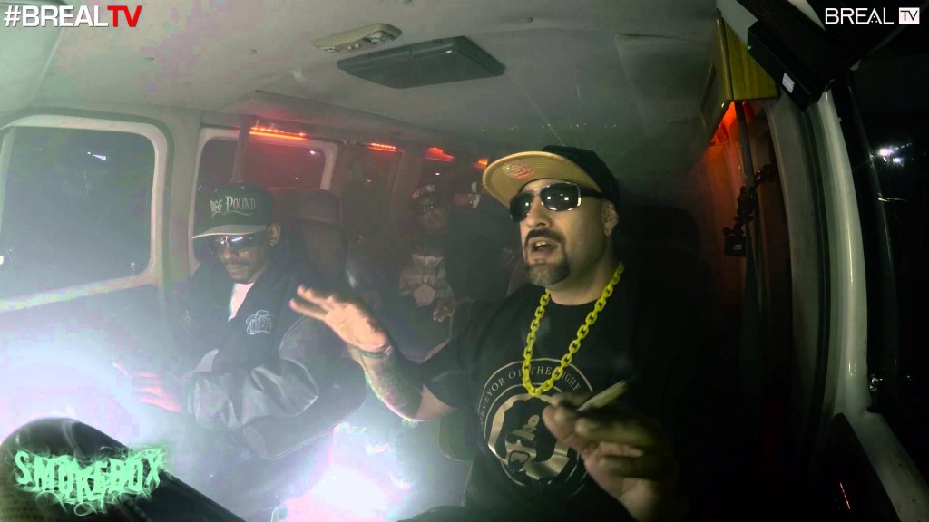LIFE: Kurupt, Tray Deee, Yukmouth, Mr Criminal, & Jayo Felony - The Smokebox | BREALTV
