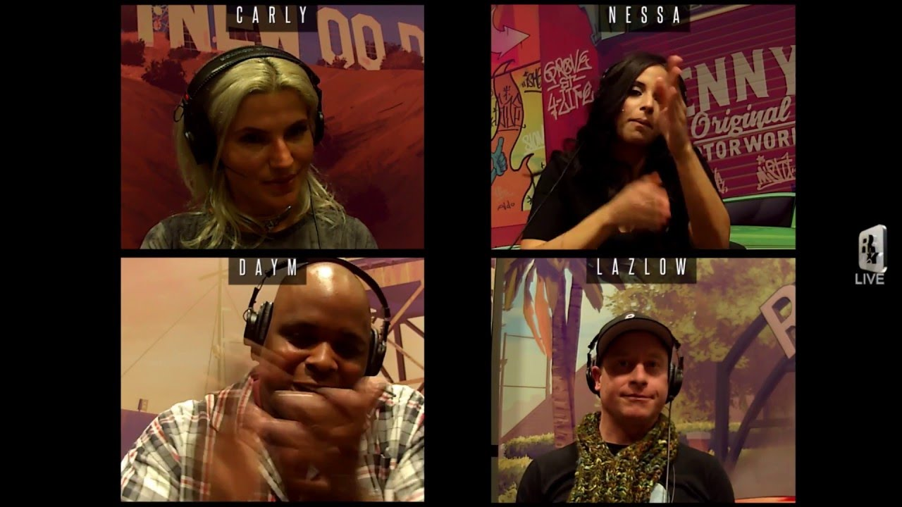 LIFE: Nessa, Carly Aquilino, Daym Drops & Lazlow battle it out in SUMO (GTA Online Sessions)