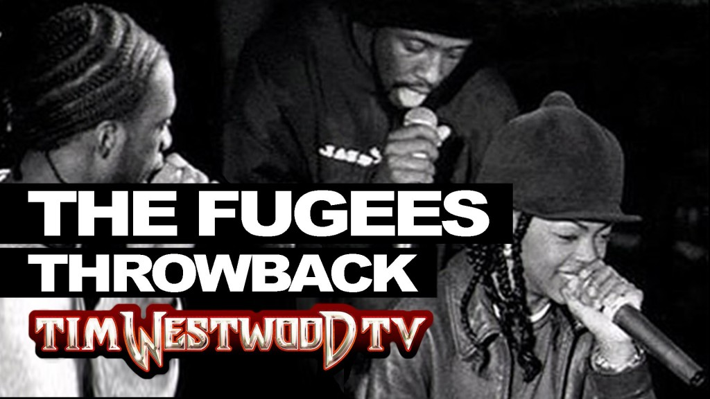 BARS: The Fugees freestyle rare, first time ever released! Throwback 1995 - Westwood
