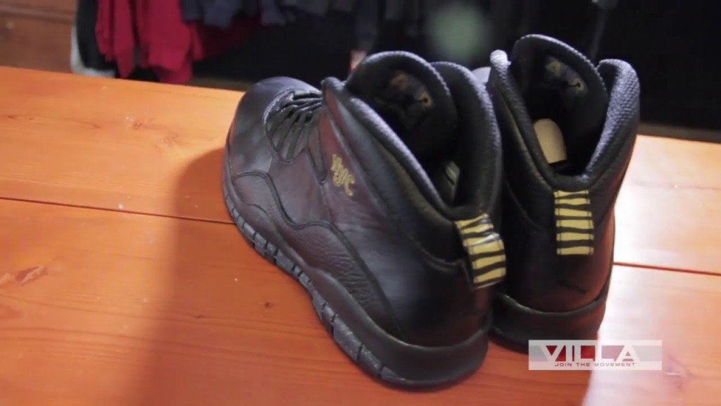 "STYLE: Air Jordan 10 ""NYC"" - Video Preview"