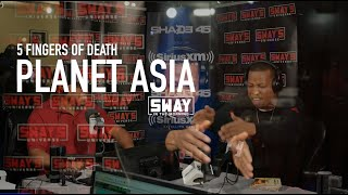 BARS: Planet Asia Goes Off The Top for his 5 Fingers of Death Freestyle