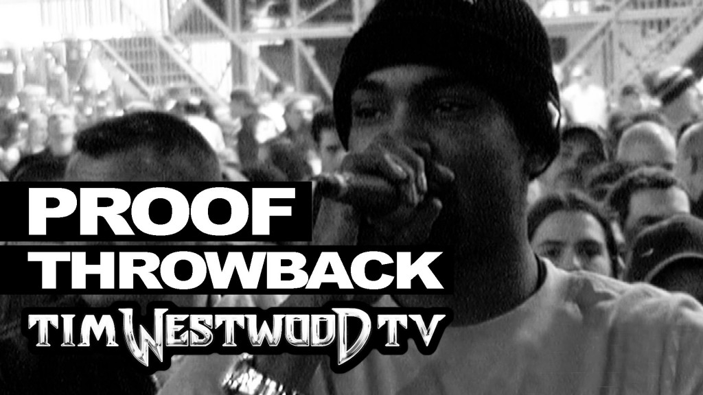 BARS: Proof freestyle JUST DISCOVERED! London Arena 2001 - Westwood - never seen before