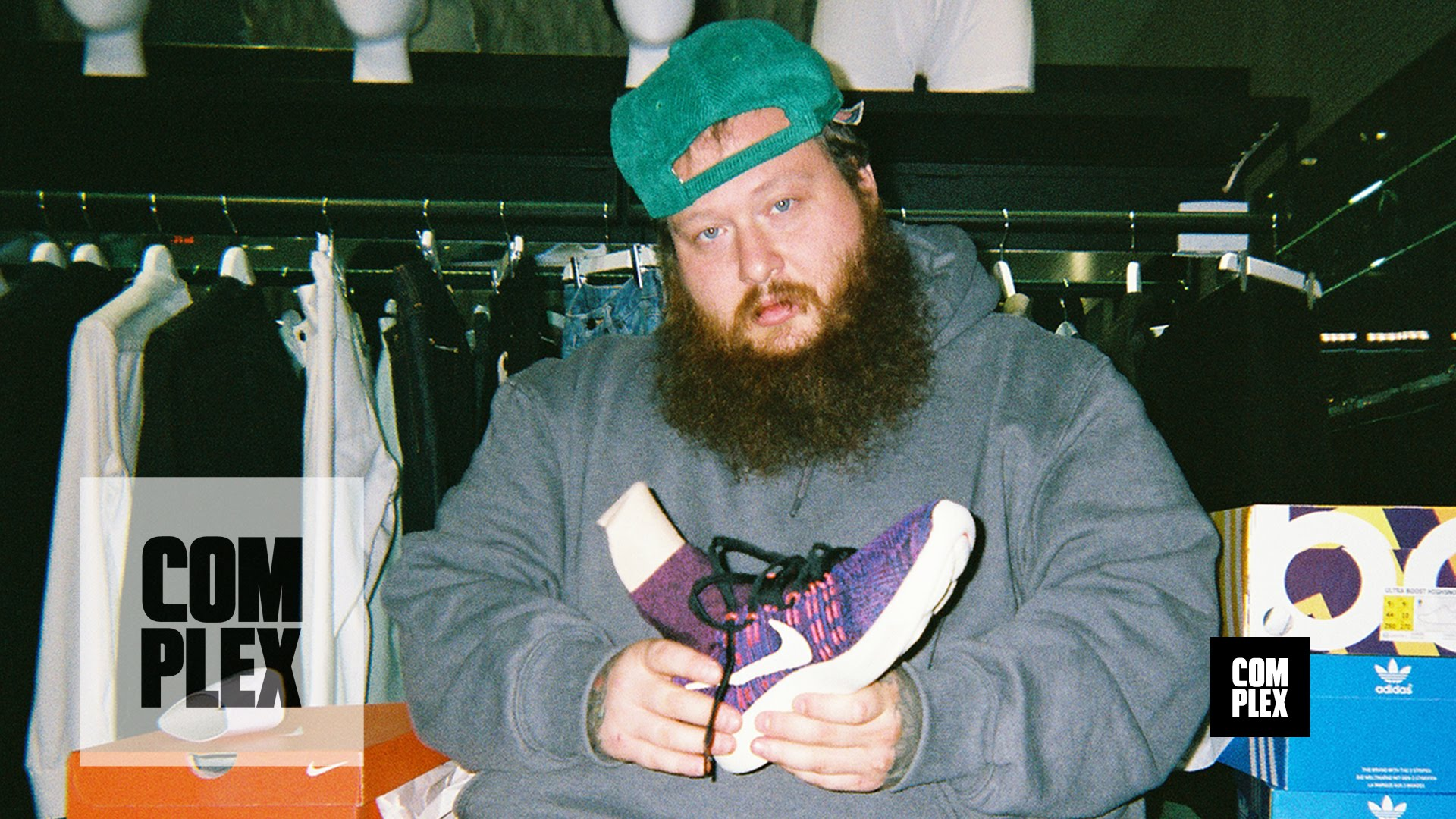 STYLE: Action Bronson Goes Sneaker Shopping With Complex