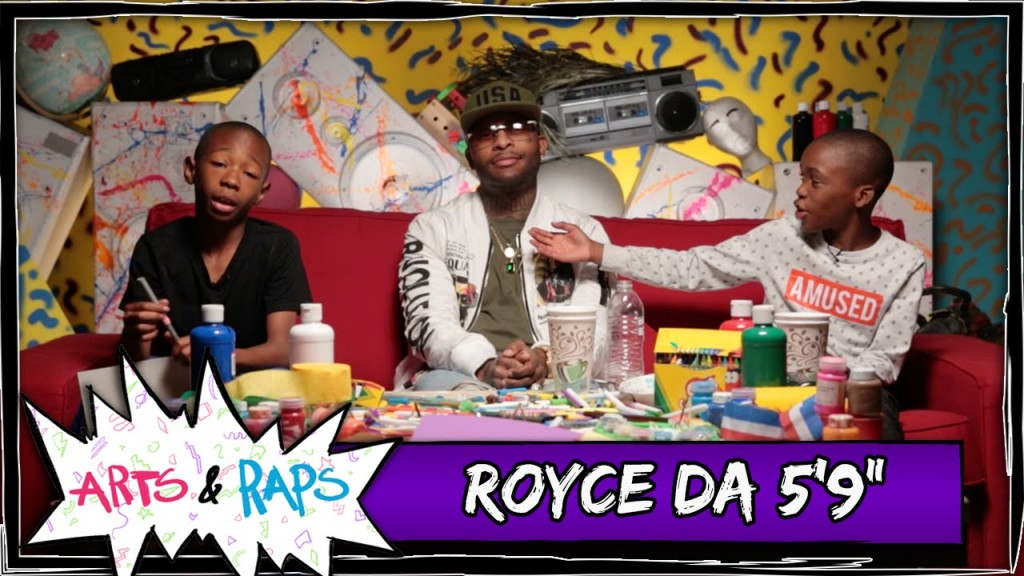 "LIFE: Who's on the Hip Hop Mount Rushmore? w/ Royce Da 5'9""  - Arts & Raps #ArtsNRaps"