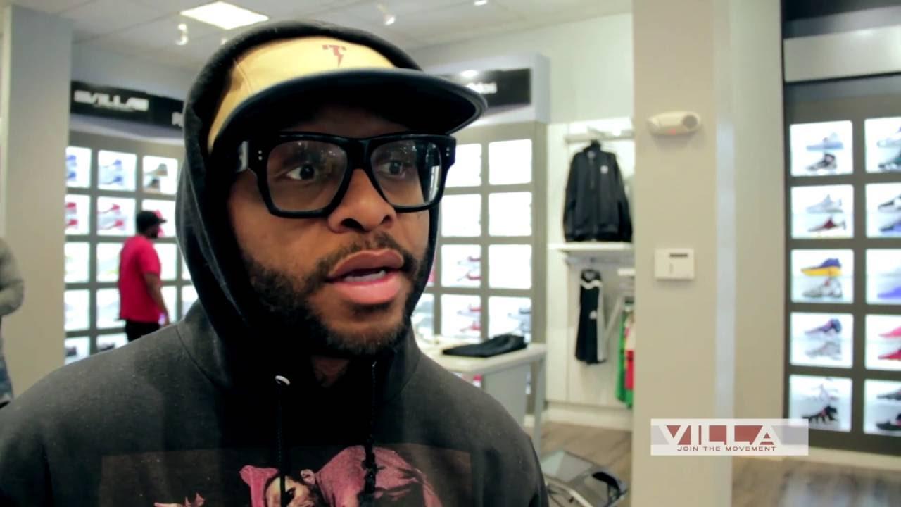 STYLE: Royce Da 5'9 Visit VILLA for New Sneakers