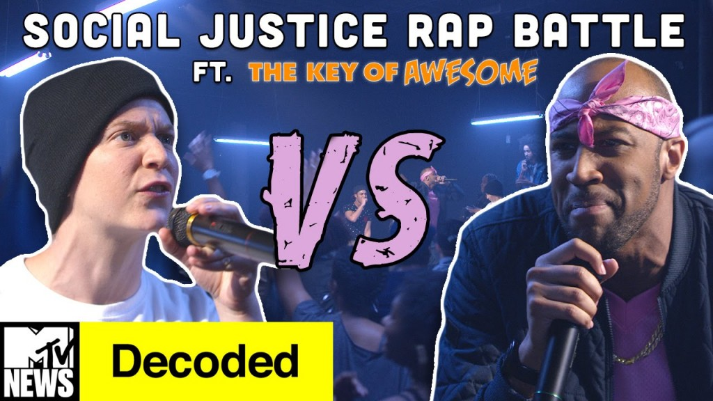 BARS: Social Justice Rap Battle! ft. The Key of Awesome | Decoded | MTV News