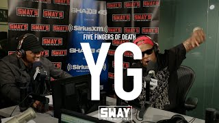 BARS: YG Goes Brazy With His 5 Fingers Of Death Freestyle!