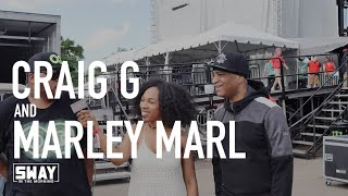 LIFE: Marley Marl & Craig G Share Favorite New Artists + Speak on the Lost Art of Freestyling