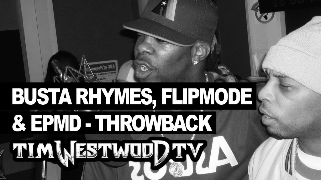 BARS: Busta Rhymes, Flipmode, EPMD freestyle - rare first time ever released Throwback - Westwood