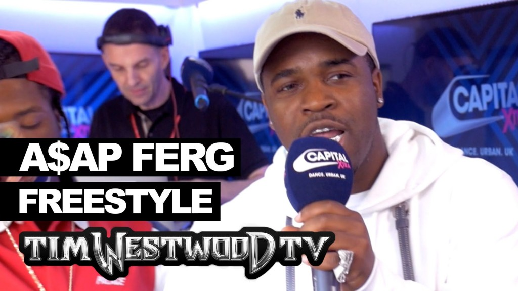 BARS: A$AP Ferg & Marty Baller freestyle backstage at Wireless - Westwood