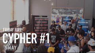 BARS: Friday Fire Cypher: PT. 1 of Our Detroit Freestyles