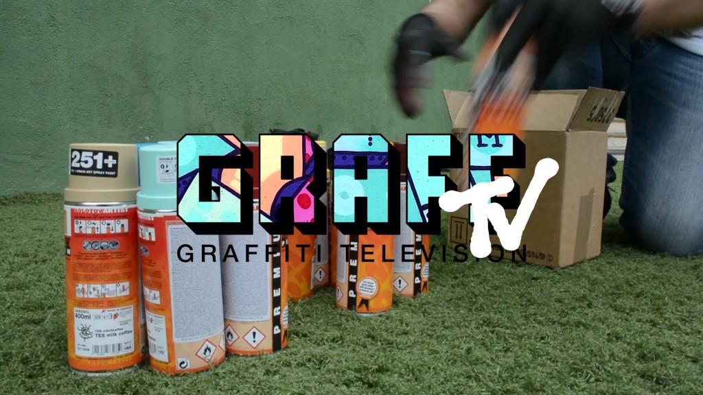 ART: GRAFFITI TV: IZEAL
