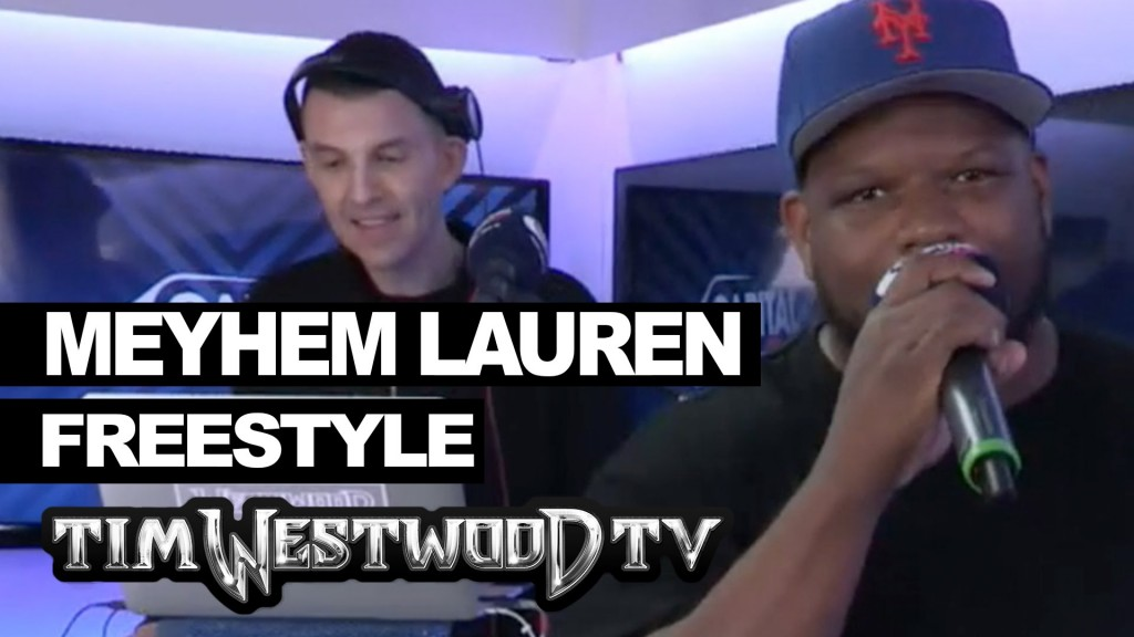 BARS: Meyhem Lauren & Action Bronson freestyle at Wireless - Westwood