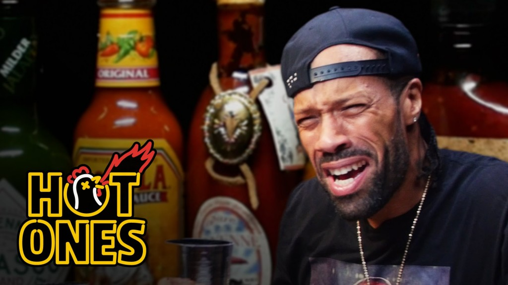 LIFE: Redman Wilds Out Eating Spicy Wings | Hot Ones