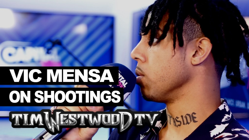 LIFE: Vic Mensa says its time to speak out about the shootings - Westwood