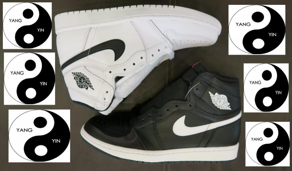 STYLE: Air Jordan 1 Ying Yang Retro Sneaker Pack Detailed Look