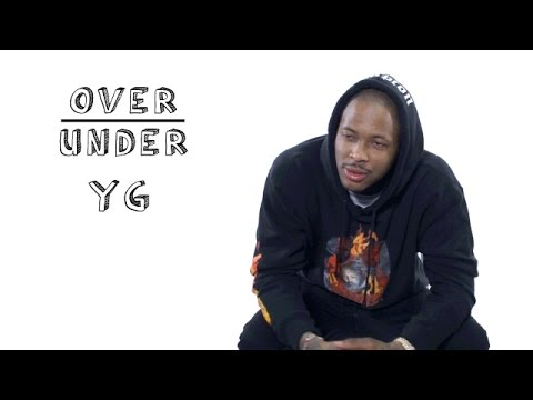 LIFE: YG rates Bruce Springsteen, Donald Trump's hair and Veganism