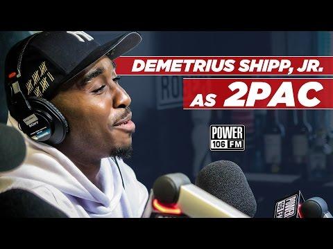 "LIFE: Demetrius Shipp Jr talks Playing 2Pac in ""All Eyez On Me"" Movie"
