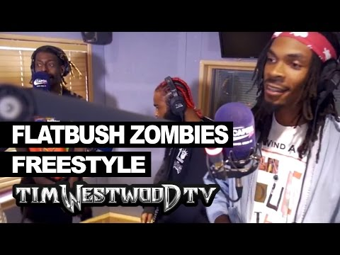 BARS: Flatbush Zombies freestyle - Westwood