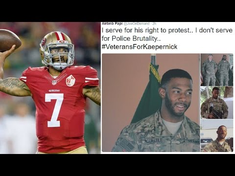 LIFE: Veterans Defend Colin Kaepernick's Right To Sit