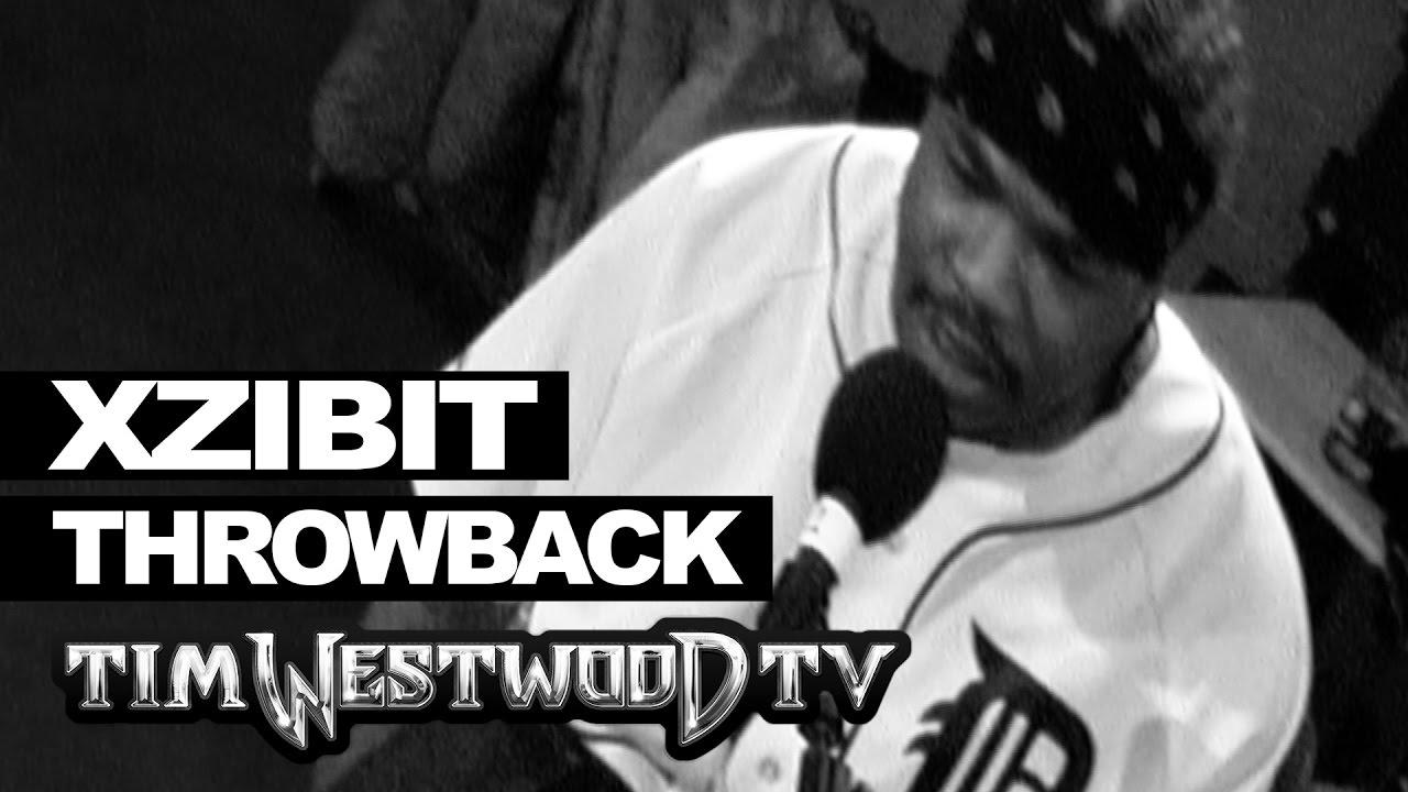 BARS: Xzibit freestyle backstage at Eminem show in 2001 – Westwood Throwback