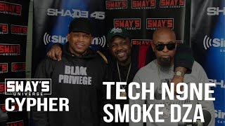 BARS: Tech N9ne and  Smoke DZA Freestyle over Pete Rock Production on Sway in the Morning