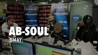 BARS: Ab-Soul Freestyles + Talks Satanism and Breaks Down Lyrics on Sway in the Morning