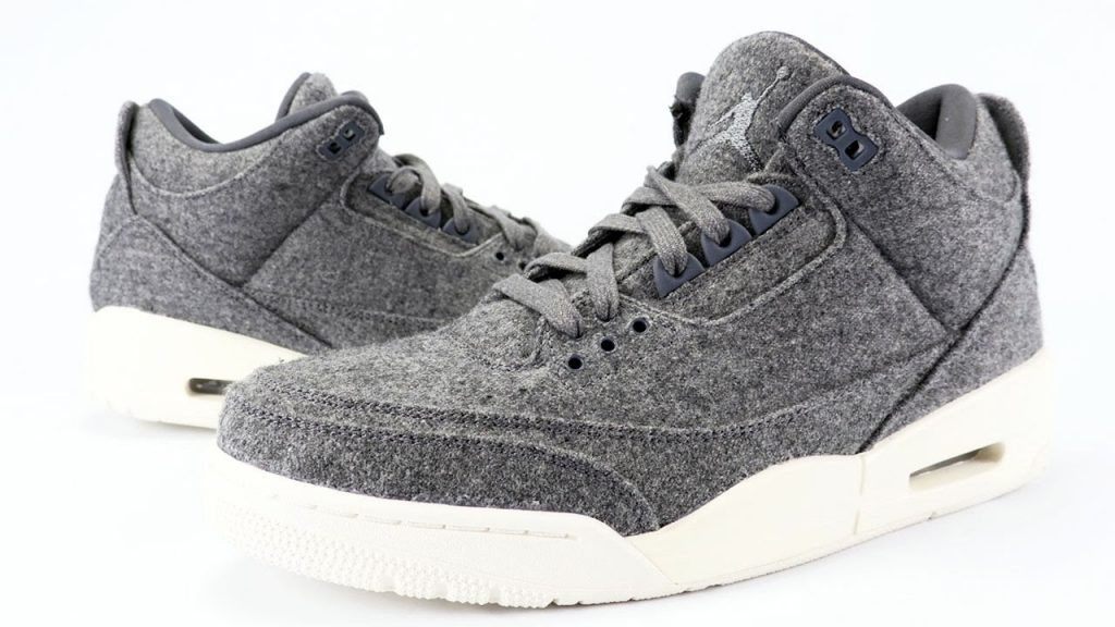 arrives 128b6 efd7d Air Jordan 3 Wool Dark Grey Review + On Feet