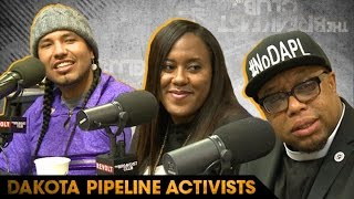 LIFE: Dakota Pipeline Activists Speak About Their Fight to Protect Native Lands