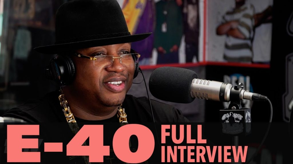 "LIFE: E-40 on ""The D-Boy Diary"", Being Friends With Tupac, And More! (Full Interview) 