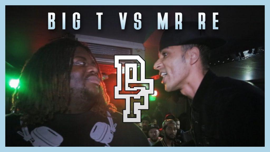 BARS: BIG T VS MR RE | Don't Flop Rap Battle