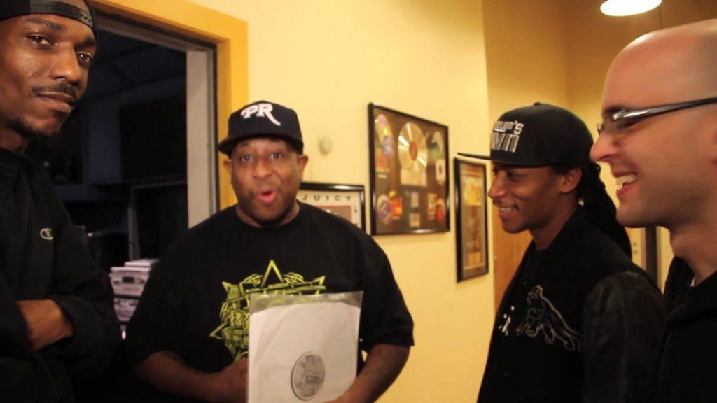 LIFE: General Steele Delivers Building Bridges Vinyl To DJ Premier