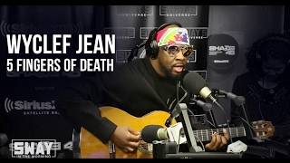 BARS: Wyclef Kills the 5 Fingers of Death on Sway in the Morning