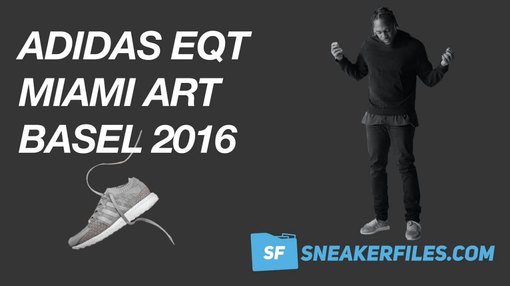 STYLE: adidas EQT Event at Art Basel Miami 2016 with Pusha T