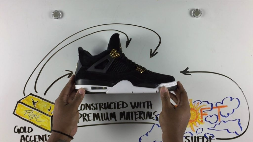 "STYLE: Jordan Retro IV ""Royalty"" Whiteboard #GAFxFTA"