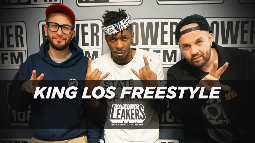 BARS: King Los 15 Minute Freestyle With The LA Leakers | #Freestyle003