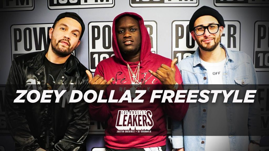 BARS: Zoey Dollaz Freestyle With The LA Leakers | #Freestyle002