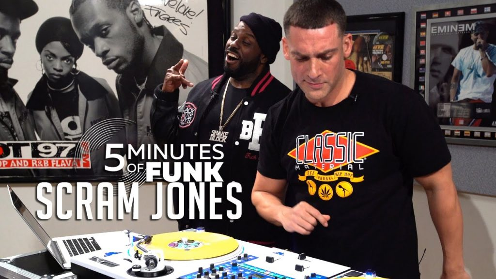 LIFE: #5MinutesOfFunk003 | DJ Scram Jones | #TurntableTuesday97