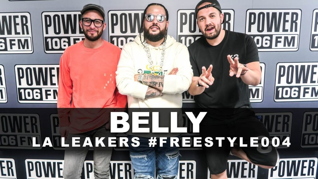 BARS: Belly Freestyle With The L A  Leakers | #Freestyle004