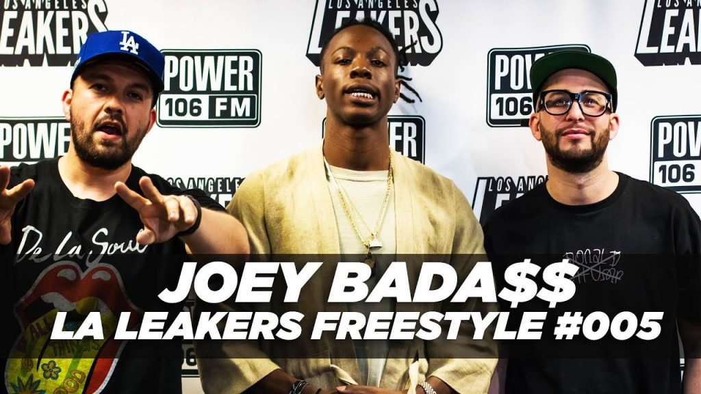 BARS: Joey Bada$$ Freestyle With The LA Leakers | #Freestyle005