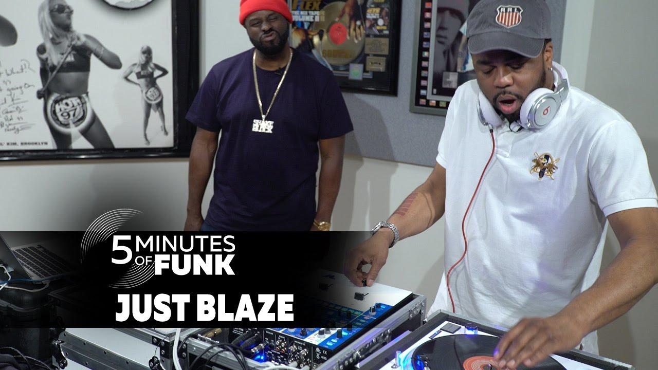 LIFE: Just Blaze | #5MinutesofFunk004 | #TurntableTuesday97