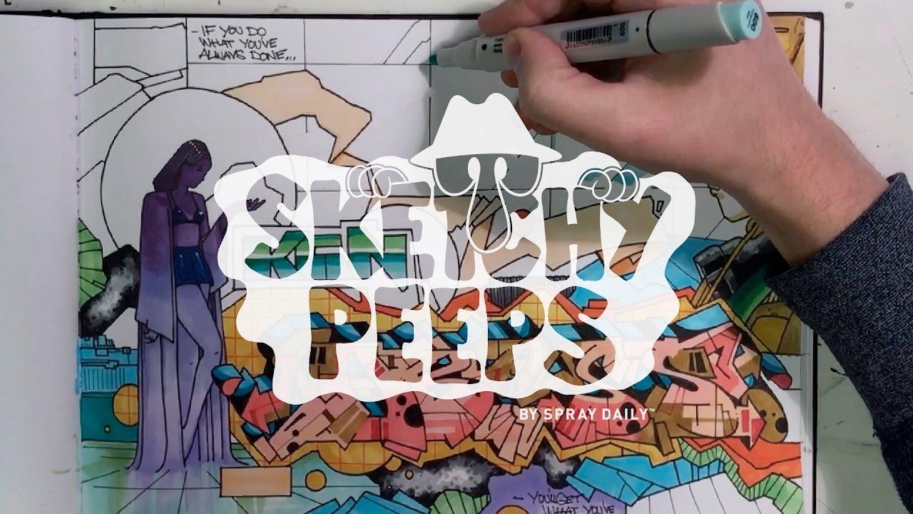 ART: SKETCHY PEEPS 007 – Abyss
