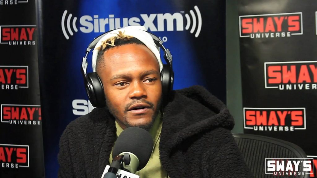 BARS: The King of African Rap Kwesta Smashes a Freestyle on Sway in the Morning