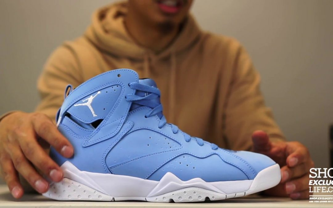 "STYLE: Air Jordan 7 Retro ""Pantone"" Unboxing Video at Exclucity"