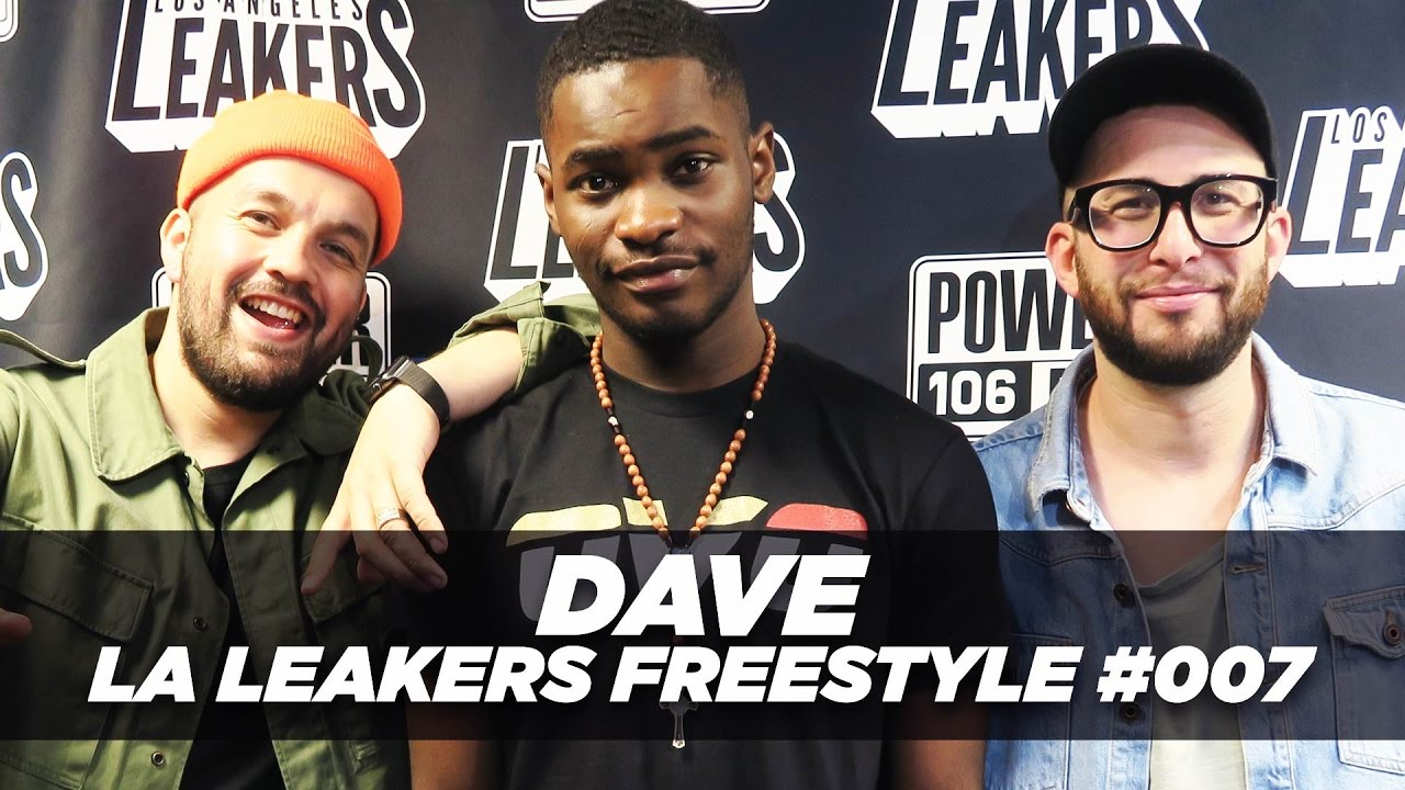 BARS: Dave Freestyle With The LA Leakers   #Freestyle007