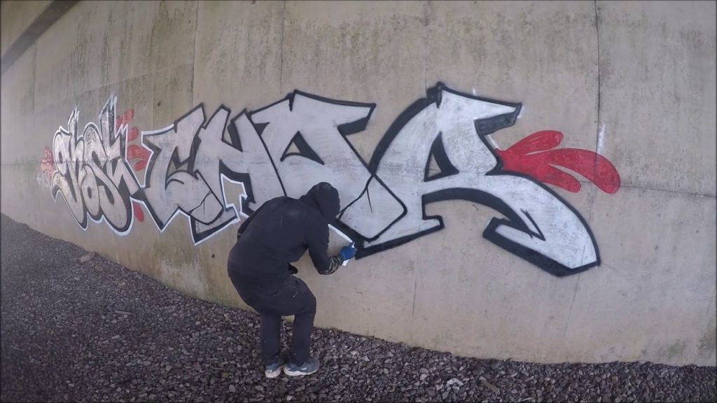ART: Graffiti - Ghost EA & Chor CRZ - Chrome Killers Episode 3